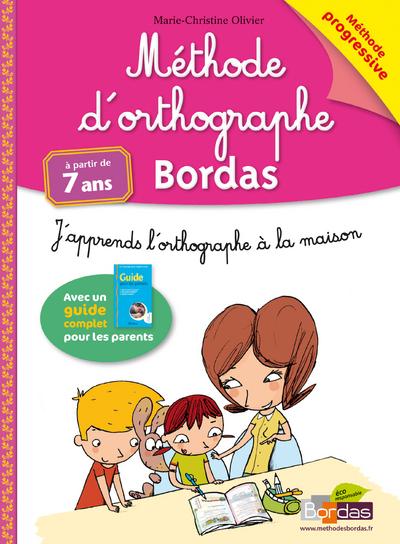 METHODE D'ORTHOGRAPHE BORDAS