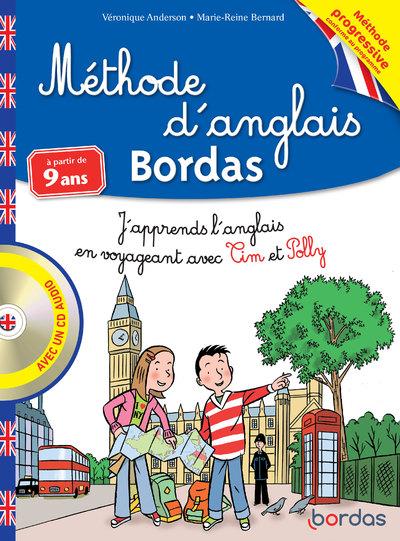 METHODE D'ANGLAIS BORDAS A PARTIR DE 9 ANS AVEC UNCD AUDIO