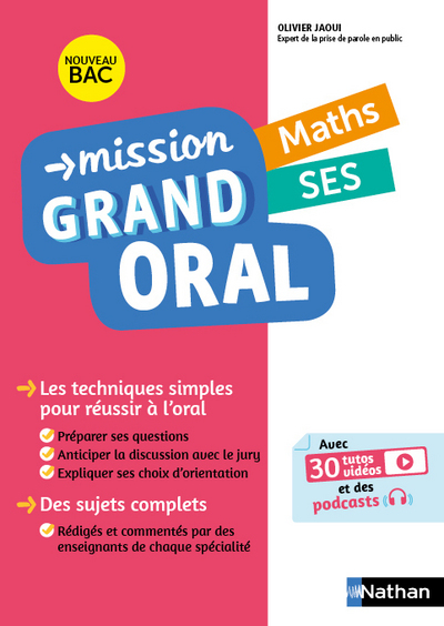 MISSION GRAND ORAL  MATHS / SES