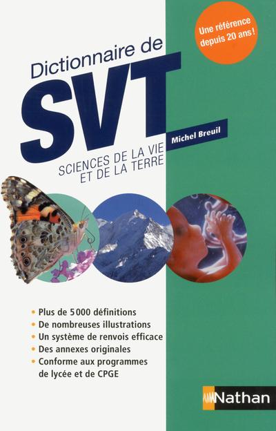 DICTIONNAIRE DE SVT SCIENCES DE LA VIE ET DE LA TERRE