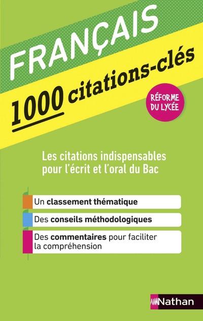 1000 CITATIONS-CLES - FRANCAIS