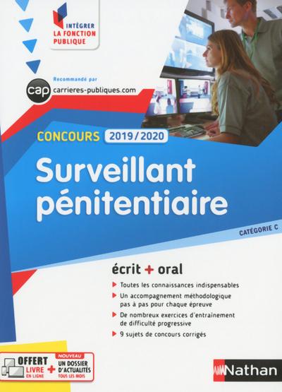 CONCOURS SURVEILLANT PENITENTIAIRE 2019-2020 CAT C- NUMERO 9 (INTEGRER LA FONCTION PUBLIQUE) 2019