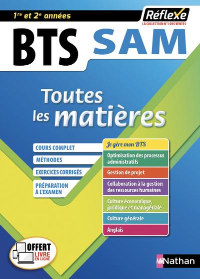 SUPPORT A L'ACTION MANAGERIALE - BTS SAM 1 ET 2 (TOUTES LES MATIERES - REFLEXE N°9) - 2019