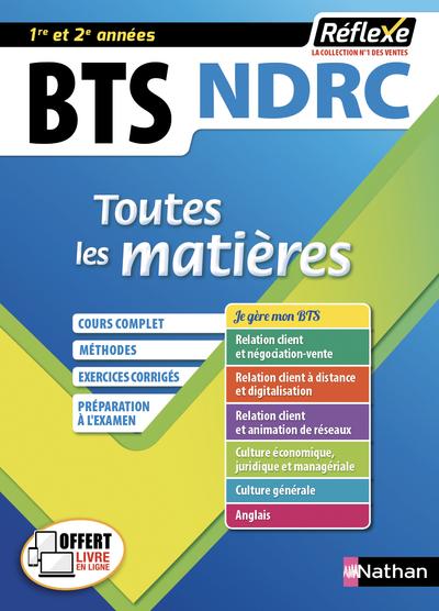 NEGOCIATION ET DIGITALISATION DE LA RELATION CLIENT BTS NDRC 1/2 (TOUTES LES MATIERES REFLEXE N°8)