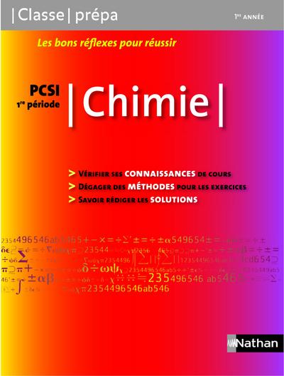 CHIMIE - PCSI 1RE PERIODE  CLASSE PREPA