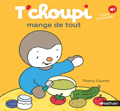 T'CHOUPI MANGE DE TOUT
