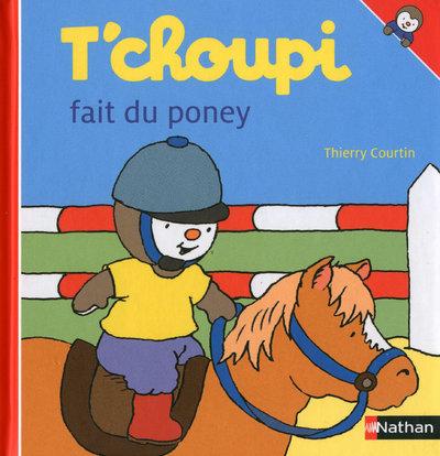 T'CHOUPI FAIT DU PONEY EFL2