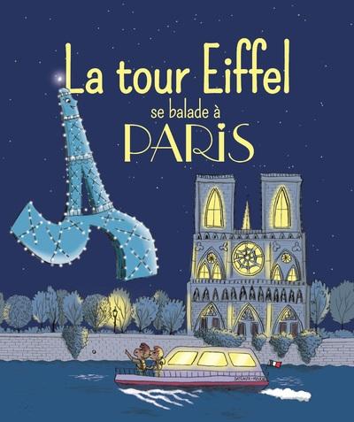 LA TOUR EIFFEL SE BALADE A PARIS