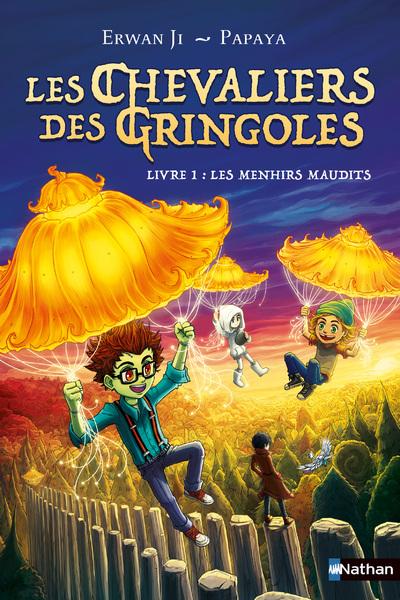 LES CHEVALIERS DES GRINGOLES - TOME 01 : LES MENHIRS MAUDITS