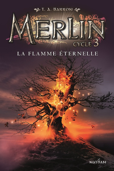 MERLIN CYCLE 3 - TOME 3 LA FLAMME ETERNELLE