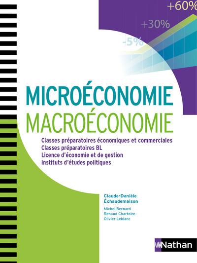 MICROECONOMIE ET MACROECONOMIE AUX CONCOURS DES GRANDES ECOLES 1ERE/2EME ANNEES NOUVEAUX CONTINENTS