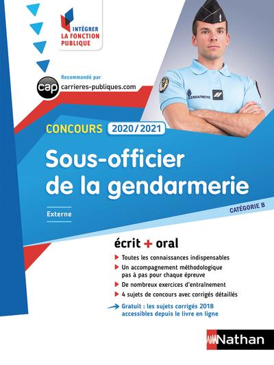 CONCOURS SOUS-OFFICIER DE LA GENDARMERIE 2020/2021- CAT B N23 (IFP) 2019