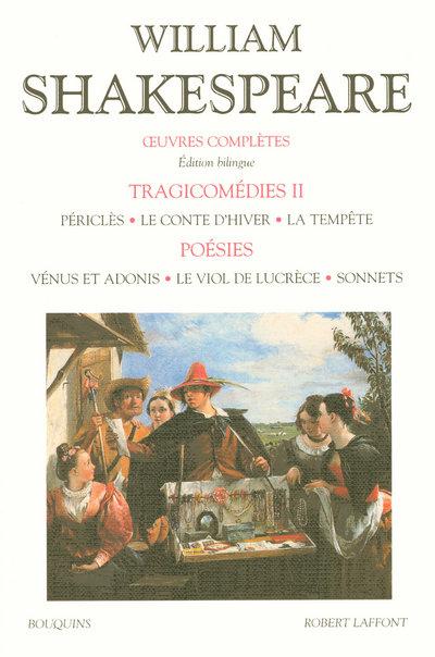 SHAKESPEARE - TRAGICOMEDIES - COMEDIES - TOME 2 - EDITIONS BILINGUE FRANCAIS/ANGLAIS