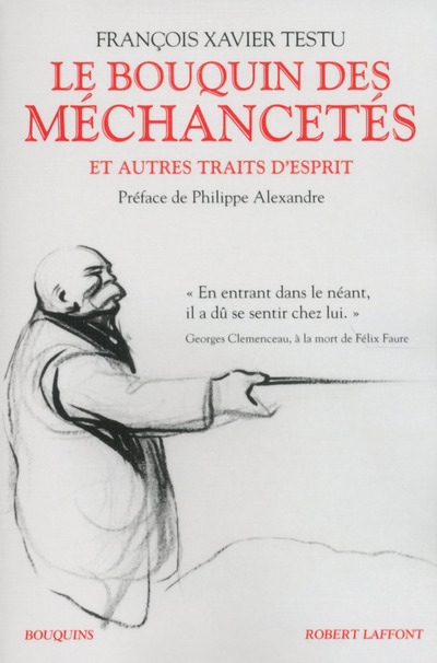 LE BOUQUIN DES MECHANCETES ET AUTRES TRAITS D'ESPRIT