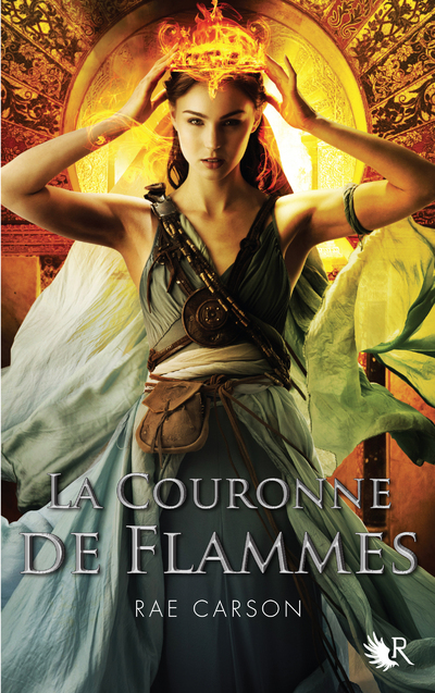 LA COURONNE DE FLAMMES - TOME 2 TRILOGIE DE BRAISES ET DE RONCES