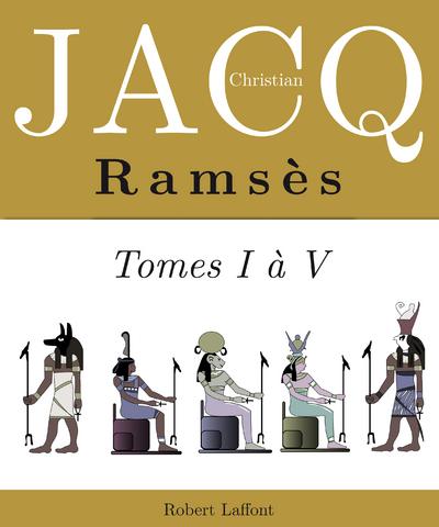 L'INTEGRALE RAMSES - TOME 1 A TOME 4 -