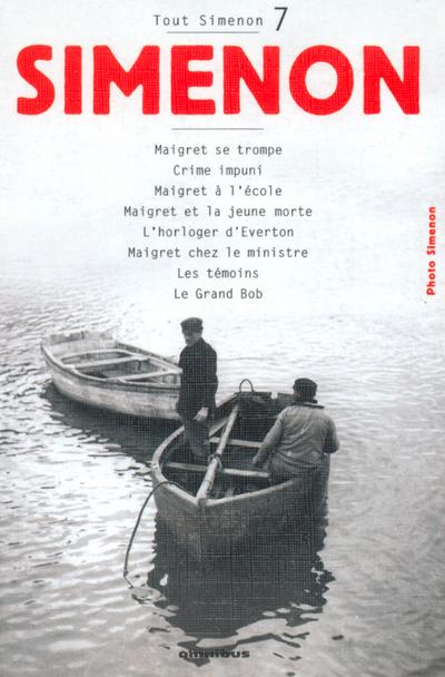TOUT SIMENON - TOME 7 CENTENAIRE