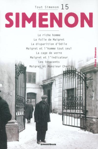 TOUT SIMENON TOME 15 (CENTENAIRE)