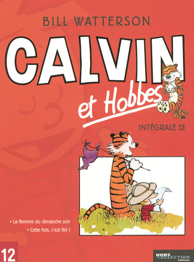 INTEGRALE CALVIN ET HOBBES - TOME 12