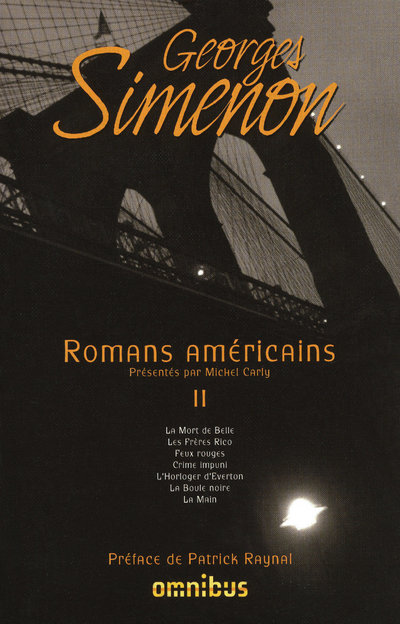 ROMANS AMERICAINS - TOME 2