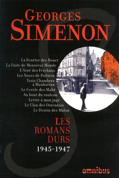 LES ROMANS DURS - TOME 6