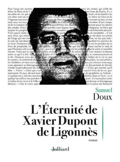 L'ETERNITE DE XAVIER DUPONT DE LIGONNES - NE