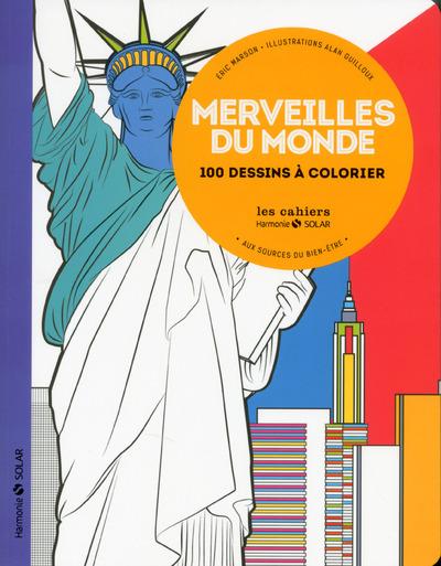 MERVEILLES DU MONDE - AUX SOURCES DU BIEN-ETRE AVEC LE COLORIAGE NE