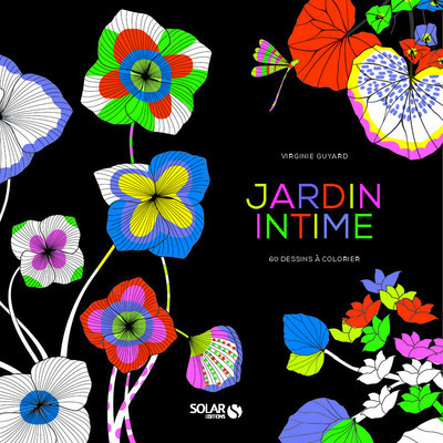 JARDIN INTIME - 55 DESSINS A COLORIER