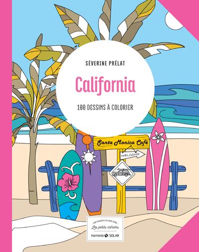 CALIFORNIA - 100 DESSINS A COLORIER