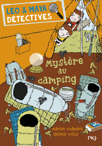 LEO & MAYA DETECTIVES - TOME 4 MYSTERE AU CAMPING
