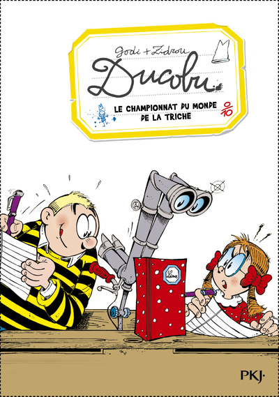 DUCOBU - TOME 6 LE CHAMPIONNAT DU MONDE DE LA TRICHE
