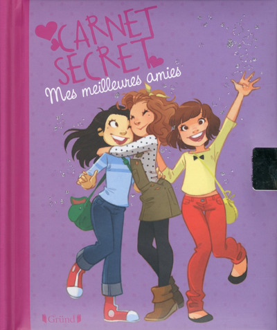 CARNET SECRET MES MEILLEURES AMIES