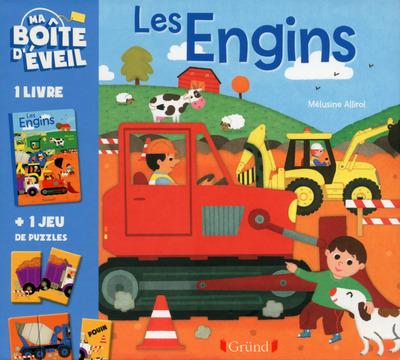 MA BOITE D'EVEIL : LES ENGINS