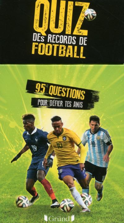BOITE A QUESTIONS - QUIZZ DES RECORDS DE FOOTBALL