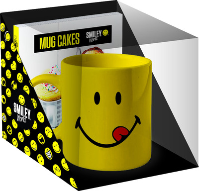 COFFRET MUG CAKES SMILEY