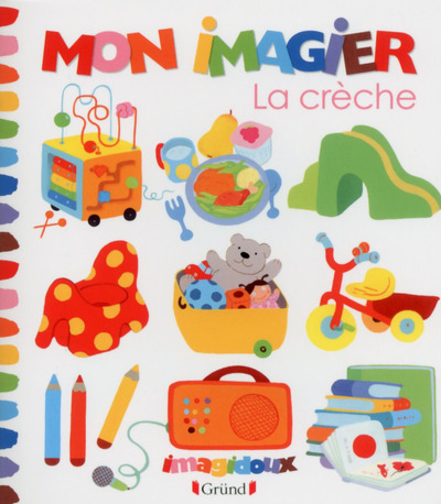 MON IMAGIER - LA CRECHE
