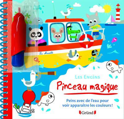 PINCEAU MAGIQUE - LES ENGINS