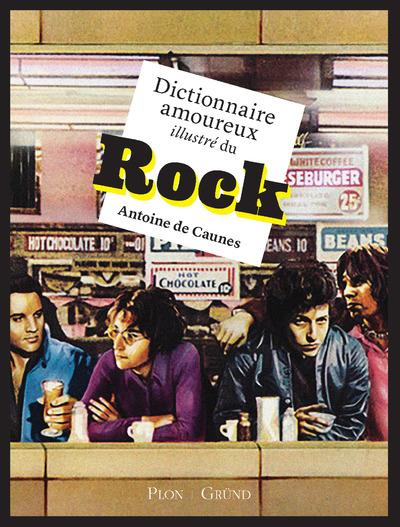 DICTIONNAIRE AMOUREUX ILLUSTRE DU ROCK