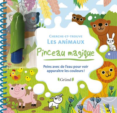 PINCEAU MAGIQUE - CHERCHE-ET-TROUVE LES ANIMAUX