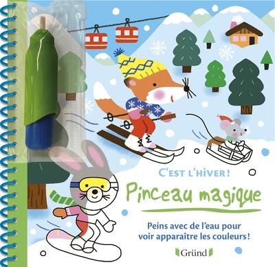 PINCEAU MAGIQUE - C'EST L'HIVER !