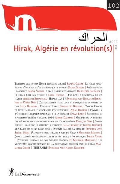 REVUE MOUVEMENTS NUMERO 102 HIRAK, ALGERIE EN REVOLUTION(S)