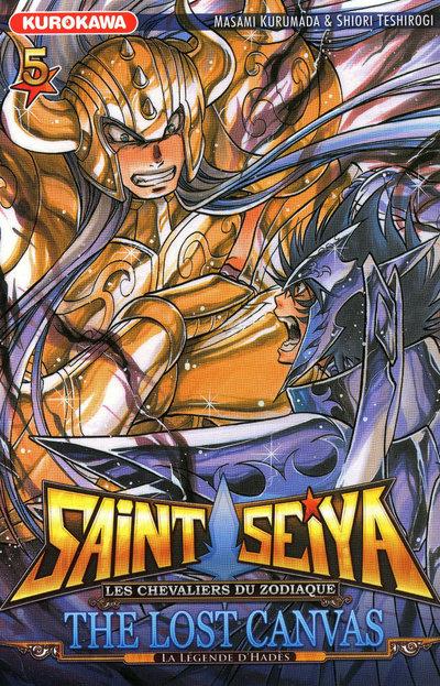 SAINT SEIYA - THE LOST CANVAS - LA LEGENDE D'HADES- TOME 5