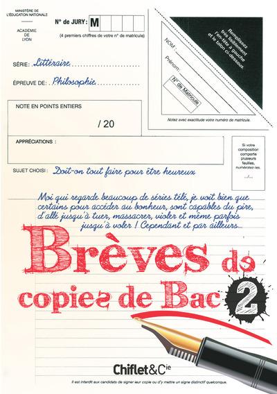 BREVES DE COPIES DE BAC 2