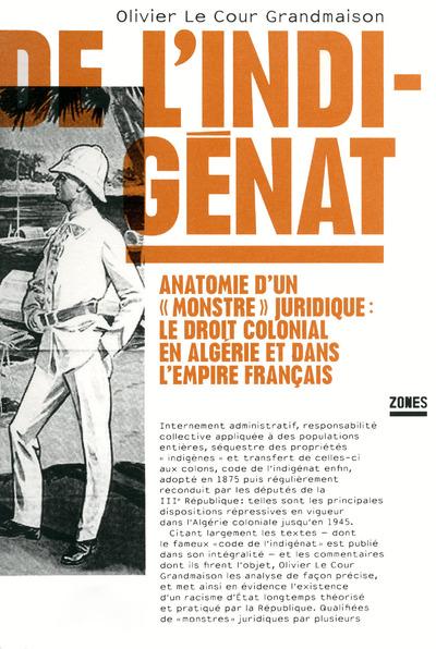 DE L'INDIGENAT