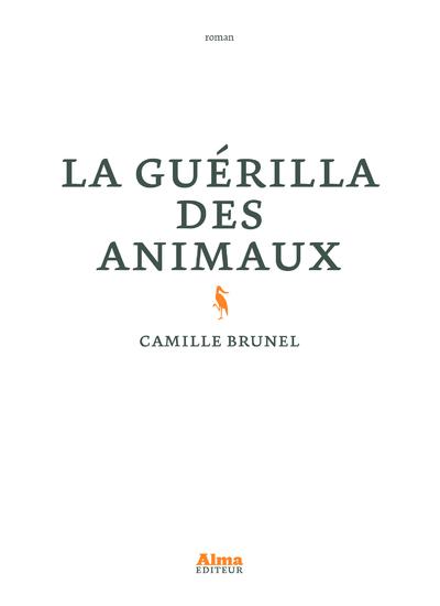 LA GUERILLA DES ANIMAUX