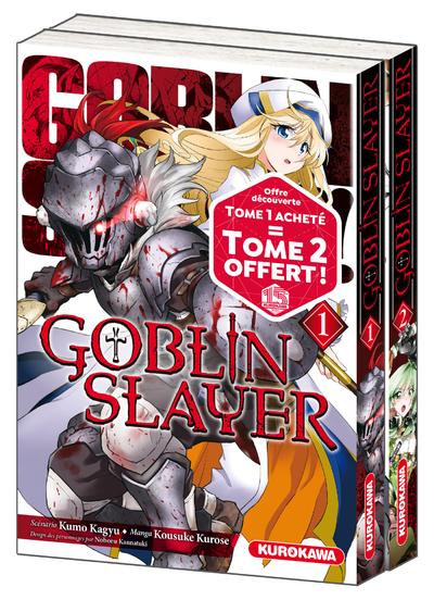 GOBLIN SLAYER - TOMES 1-2 (STARTER PACK)