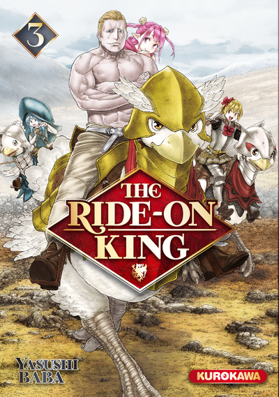 THE RIDE-ON KING - TOME 3