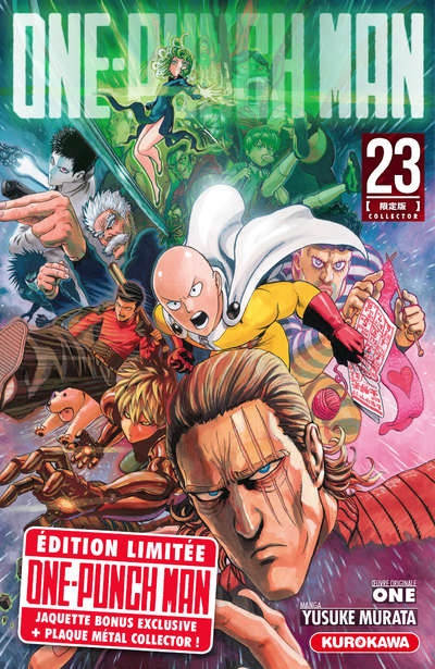 ONE-PUNCH MAN - TOME 23 - COLLECTOR