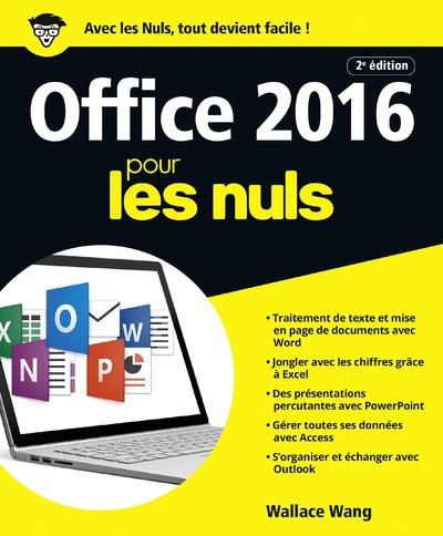 OFFICE 2016 POUR LES NULS 2E EDITION