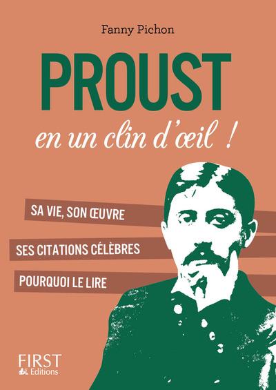 PETIT LIVRE DE - PROUST EN UN CLIN D'OEIL !